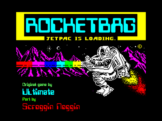 Rocketbag screen