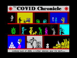COVID Chronicle screen