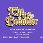 Eye of the Beholder Commodore 64-re