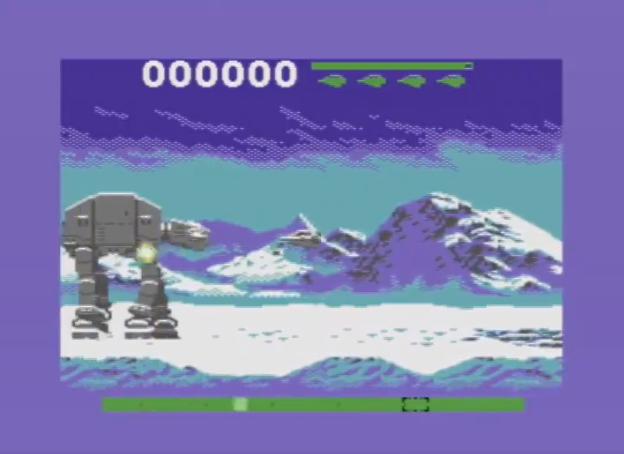 The Empire Strikes Back Atari 2600 C64