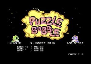 Puzzle Bobble kezdőkép