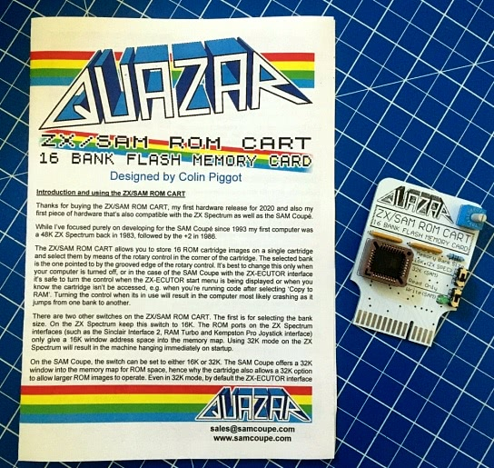 Quazar ZX/Sam ROM