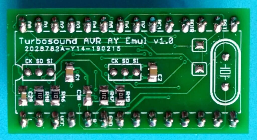 Turbo Sound AVR AY emulátor